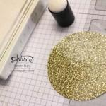 """Stamping & Blogging DT Sketch96 Goldfieber Karte mit Sale-a-bration Stempelset """"Wie du bist"""" und Designerpapier """"Erstausgabe"""" Detailbild5"""
