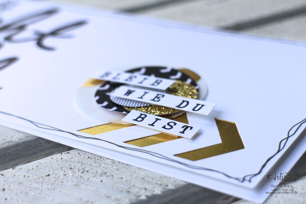 """WS Jenni 28022015 Projekt Karte mit Stempelset """"echt toll"""" und ABC Rollenstempel Detailbild"""