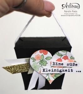 """""""Mini Take-Out Boxen"""" - Stampin´ Up! Artisan DesignTeam BlogHop 23.04.2015 - kleine Verpackungen mit Stempelset """"Spruch-reif"""" Detaildbild01"""