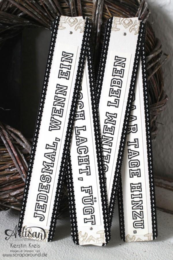 """""""ein Zollstock zum Geburtstag"""" - Stampin´ Up! Artisan DesignTeam BlogHop 30.04.2015 - Männergeburtstag Zollstock aus Spezialpappe mit Stempelset """"Für ganze Kerle"""" Detailbild3"""