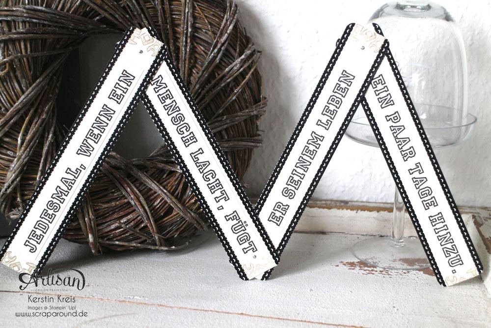 """""""ein Zollstock zum Geburtstag"""" - Stampin´ Up! Artisan DesignTeam BlogHop 30.04.2015 - Männergeburtstag Zollstock aus Spezialpappe mit Stempelset """"Für ganze Kerle"""" Detailbild4"""