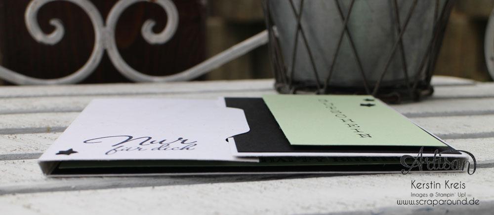 """Gutscheinkarte Klettern mit Envelope Punchboard und Stempelset """"Baum der Freundschaft"""" Detailbild02"""