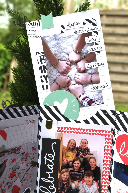 """MiniAlbum """"Happy Birthday"""" mit ProjectLife Set """"Momente wie diese""""  Detailbild04"""