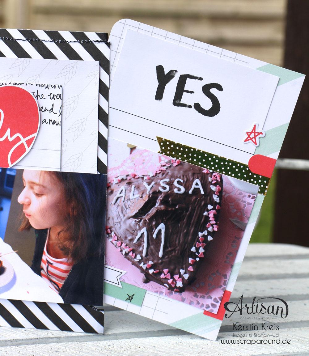 """MiniAlbum """"Happy Birthday"""" mit ProjectLife Set """"Momente wie diese""""  Detailbild09"""