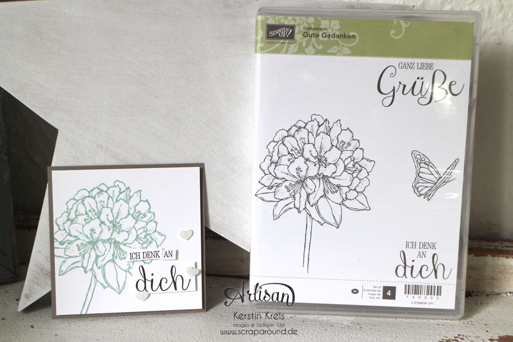 "Stampin´ Up! Artisan DesignTeam BlogHop 18.06.2015 - Inspirationen Gastgeber-Set ""Gute Gedanken"" Bild3"