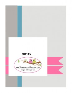 Stamping & Blogging DesignTeam Sketch 115