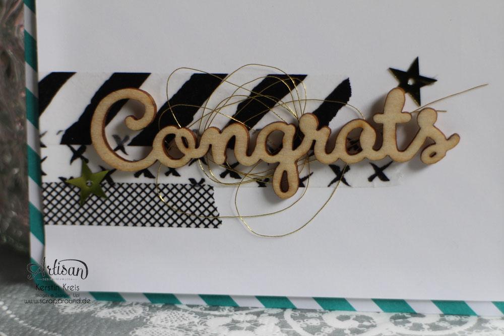 """Stamping & Blogging DT Sketch114 Giftbag mit Einsteck-Karte mit Designer-Papier im Set Signalfarben und Natur-Elemente """"Wortwörtlich"""" Detailbild03"""