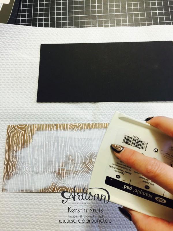 """Stampin´ Up! Artisan DesignTeam BlogHop 15.10.2015 Danke Karten mit Designerpapier """"Am Waldrand"""" und Stempelset """"thankful Forest Friends"""" Detailbild05"""