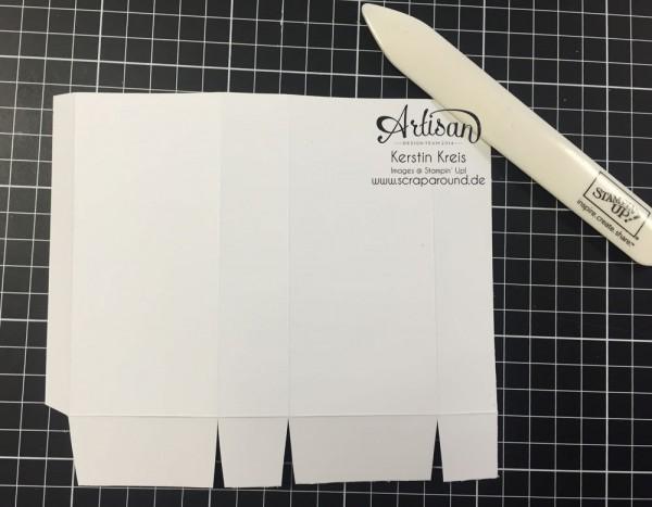 """Stampin´ Up! Artisan DesignTeam BlogHop 22.10.2015 Taschentuch-Verpackung mit Stempelset """"wahre Weihnachtsfreude"""" Detailbild05"""