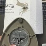 """Stampin´ Up! Artisan DesignTeam BlogHop 22.10.2015 Taschentuch-Verpackung mit Stempelset """"wahre Weihnachtsfreude"""" Detailbild08"""