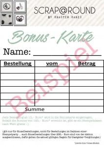 Bonuskarte Beispielbild