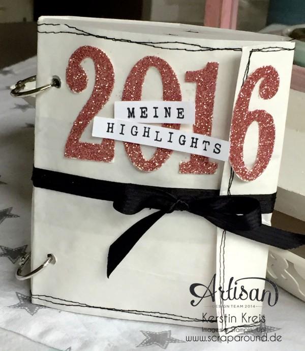 MiniAlbum Kit 022016 mit Paperbag und transparenten Seiten