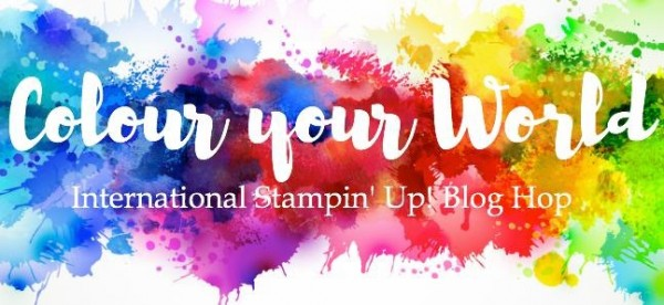 BlogHop Colour your World Logo
