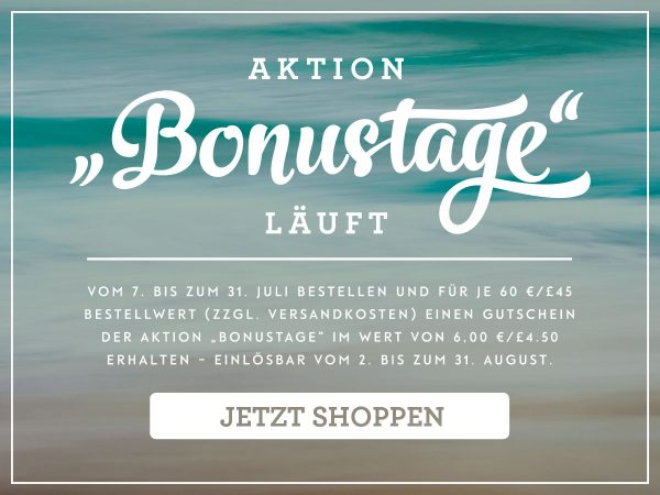 Stampin' Up! Aktion Bonustage Juli 2016