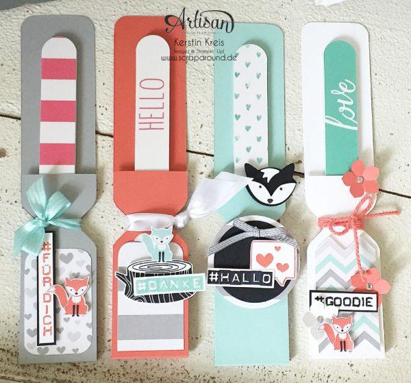 Stampin Up Inspiration&Art Produkte Ausgefuchst Verpackung Nagelfeile