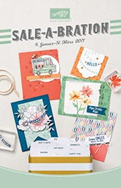 Stampin' Up! SAB sale-a-bration 2017