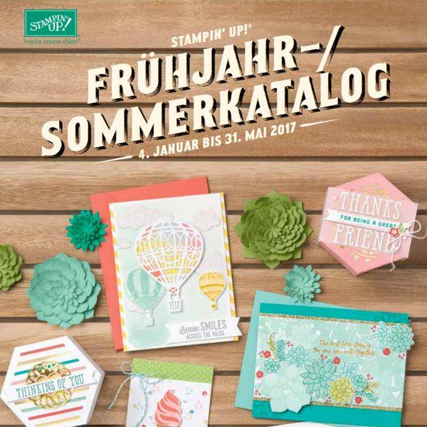 Stampin' Up! Katalog Frühjahr/Sommer 2017
