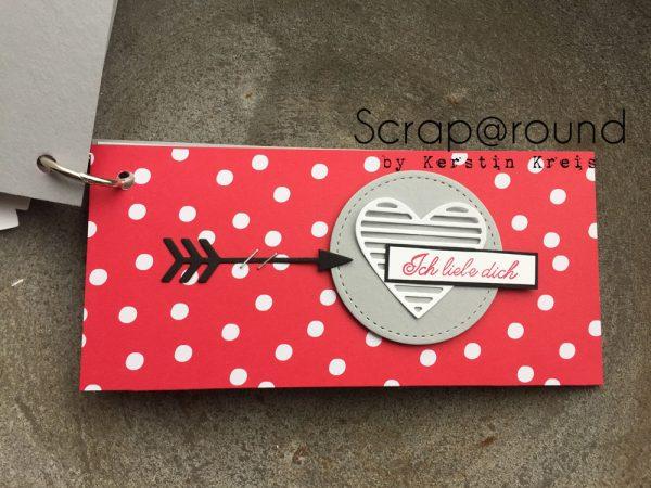 Stampin' Up! Minialbum Valentinstag Liebe Grüße Detail04