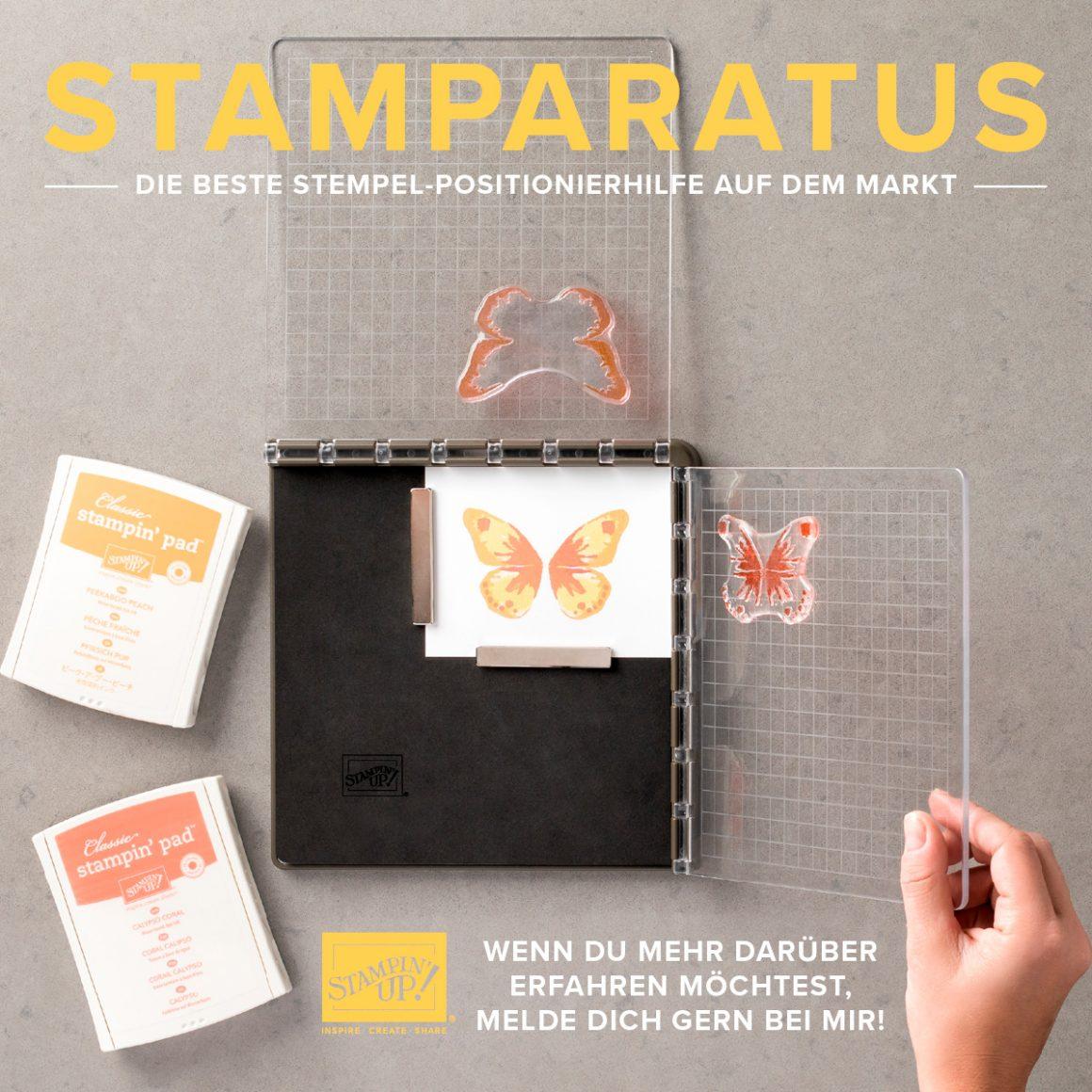der Stamparatus – die neue Stempelhilfe von Stampin´Up!