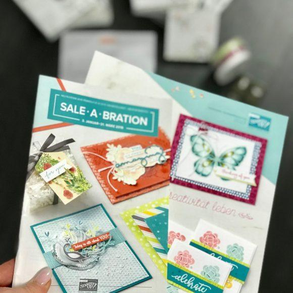Jetzt den neuen Stampin' Up! Katalog Frühjahr/Sommer 2018 vorbestellen!