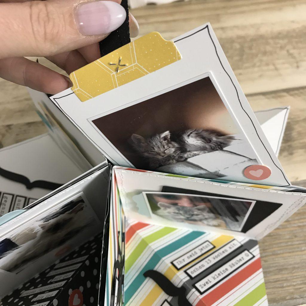 Stampin' Up! Falt Minialbum mit Designerpapier Detailbild 8