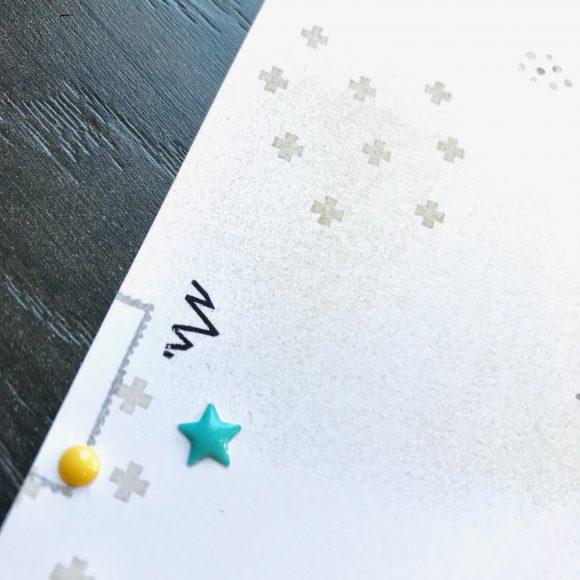 Layout stampin up scrapbooking Stempel Papier Lecker Detailbild1