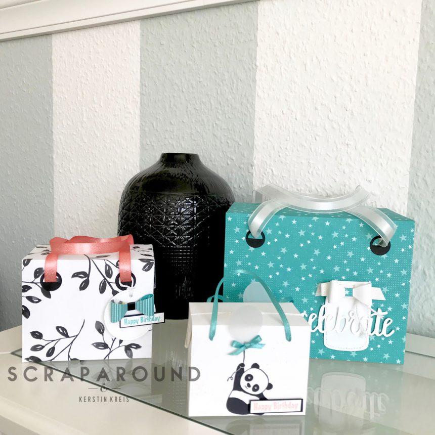 stampin up Verpackung Tasche Designerpapier SAB GDP#127