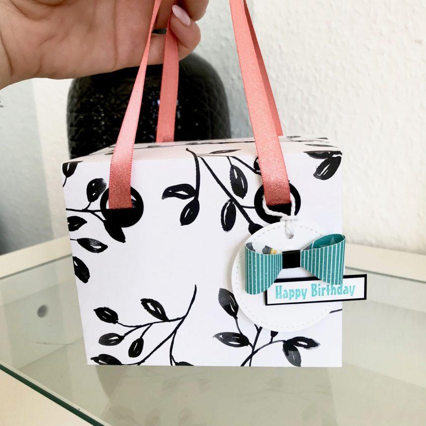stampin up Verpackung Tasche Designerpapier SAB GDP#127 Detailbild4