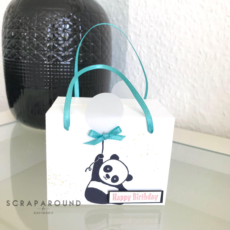stampin up Verpackung Tasche Designerpapier SAB GDP#127 Detailbild5
