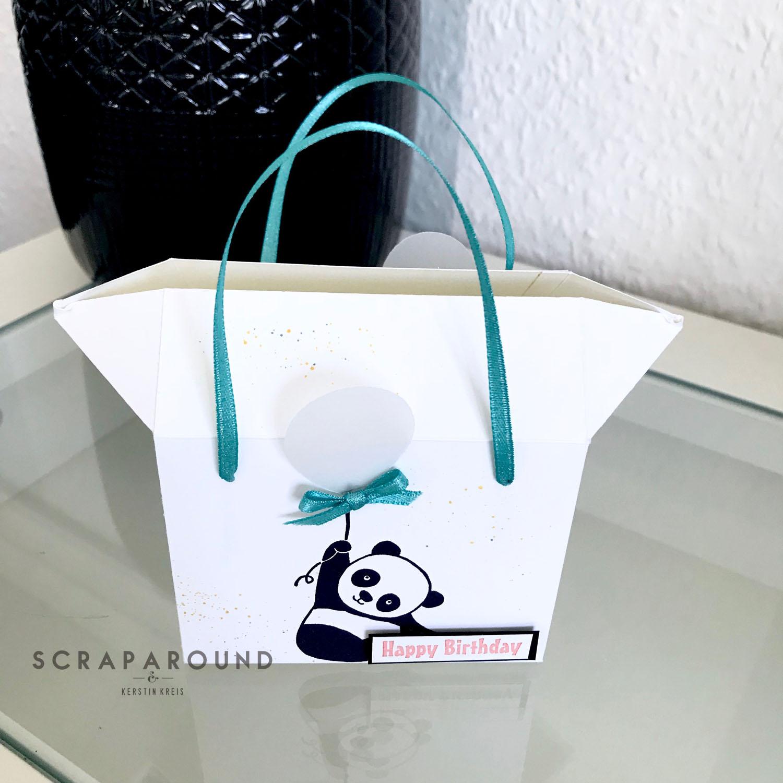 stampin up Verpackung Tasche Designerpapier SAB GDP#127 Detailbild6