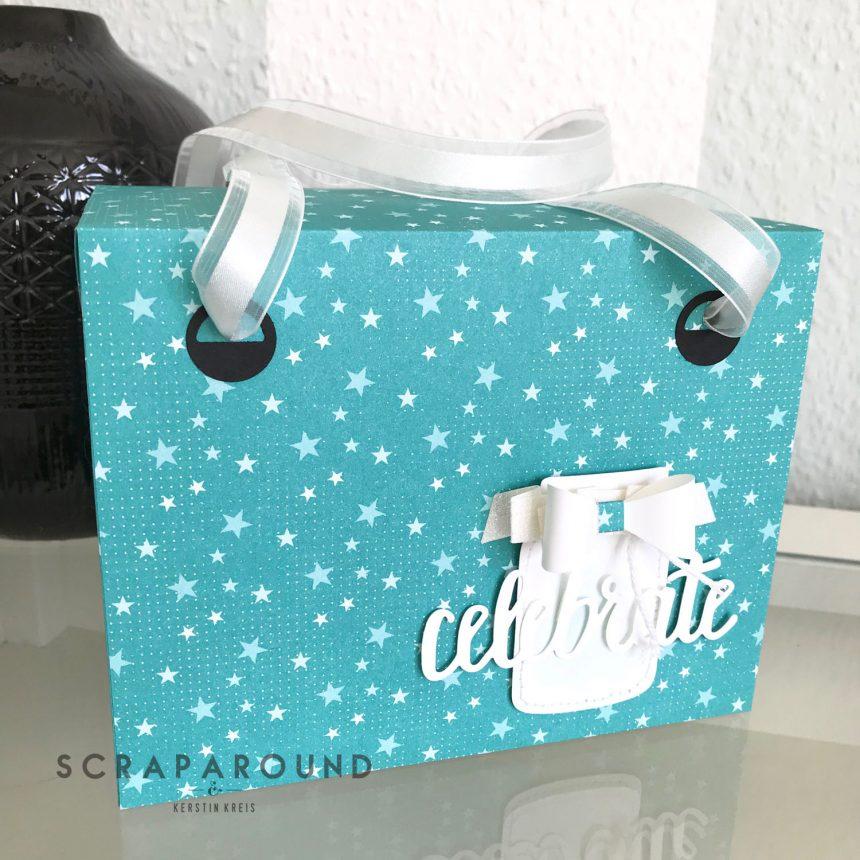 stampin up Verpackung Tasche Designerpapier SAB GDP#127 Detailbild2