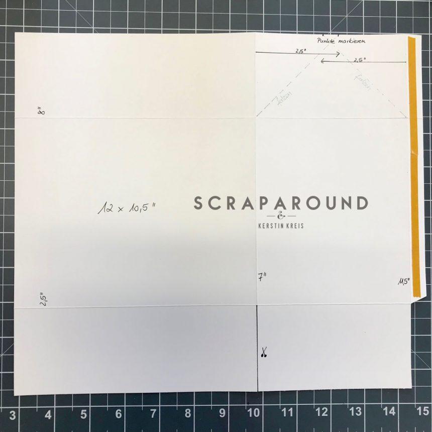 stampin up Verpackung Tasche Designerpapier SAB GDP#127 Anleitung