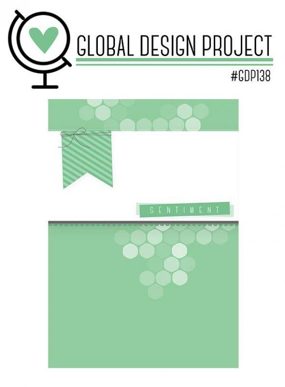 stampinup GDP138 Sketch Global Design Project Karte