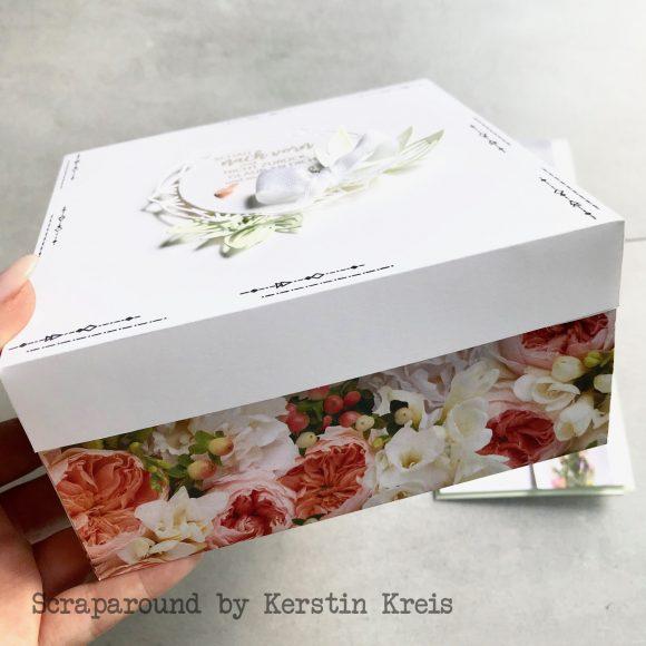 stampinup Verpackung Designerpapier Bluetenpracht Stempelset Blütenzauber Thinlits zarte Zierde