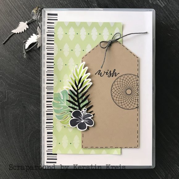 stampinup online workshop Album in der Box Stempel Tropenflair