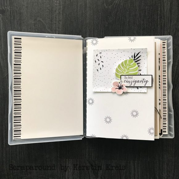 stampinup online workshop Album in der Box Stempel Tropenflair Detailbild3