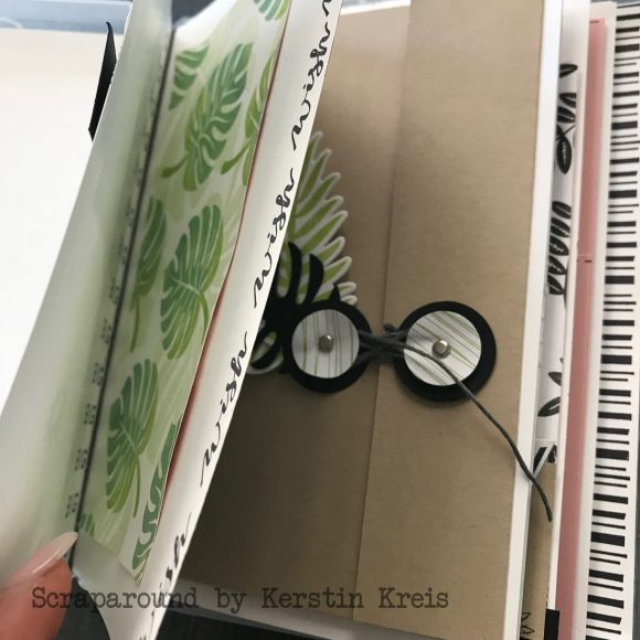 stampinup online workshop Album in der Box Stempel Tropenflair Detailbild4