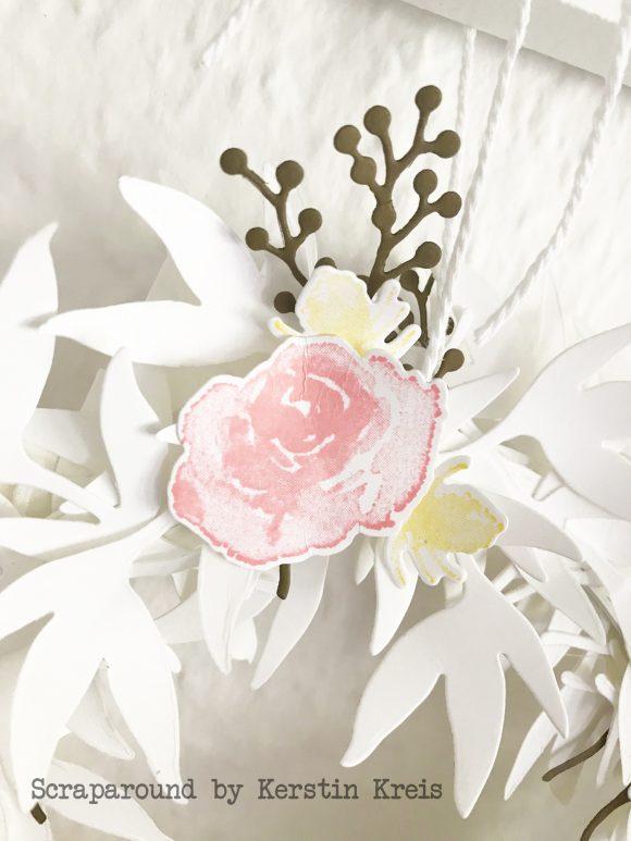 stampinup gdp153 Farbchallenge Deko Kranz Homedeko Eisblüten Framelits Bild6