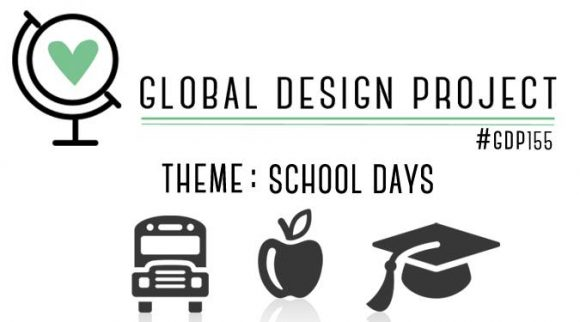 stampinup Global Design Project GDP155 Thema Schule Grundschul-Album