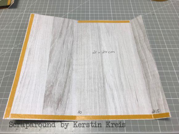 stampinup GDP158 Tee Verpackung Sketch Challenge Designerpapier Hüttenromantik Schleifen Handstanze Zuckerstange Anleitung
