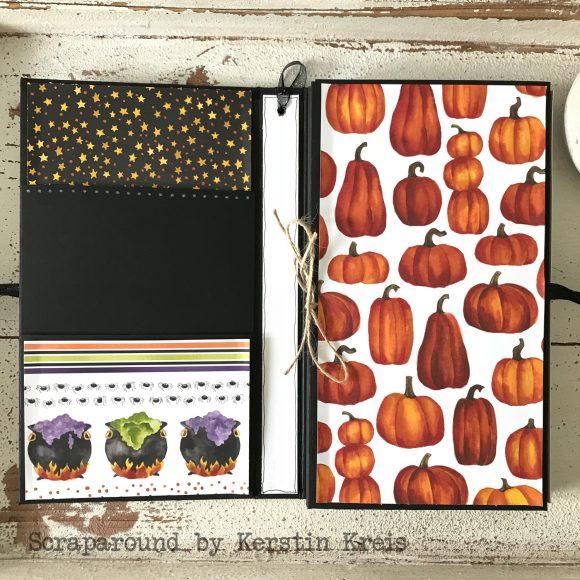 stampinup stampstories Minialbum Halloween Stempelset Hexenkessel Designerpapier wie verhext Detailbild04