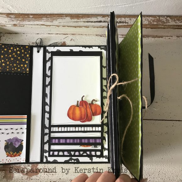 stampinup stampstories Minialbum Halloween Stempelset Hexenkessel Designerpapier wie verhext Detailbild08