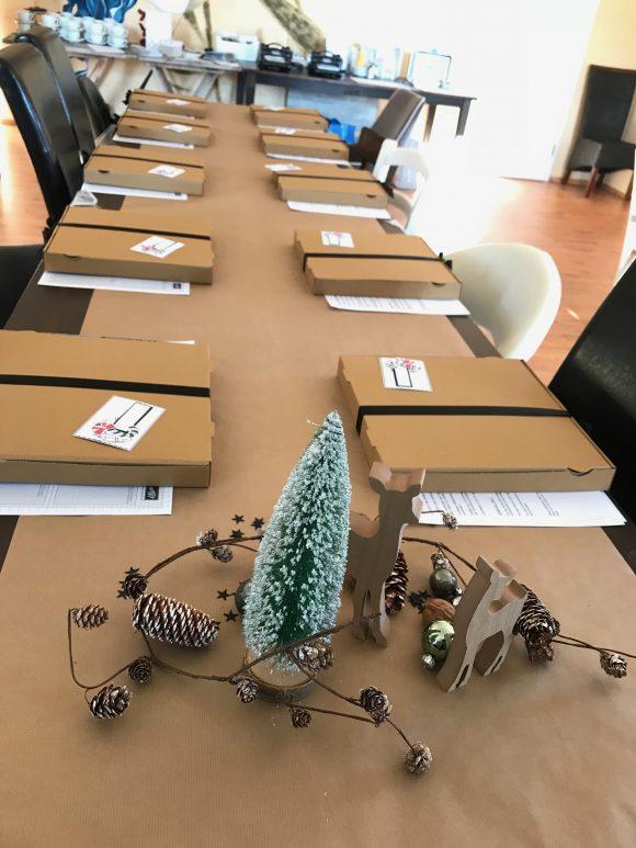 stampinup Workshoptag Thüringen Minialbum Dezember Daily Weihnachten