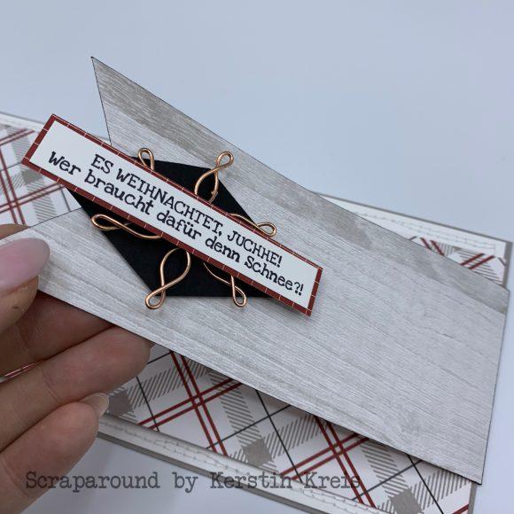 stampinup klappkarte gdp162 huettenromantik Designerpapier Stempelset Heiter bis weihnachtlich Detailbild 3