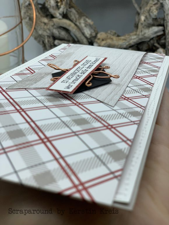 stampinup klappkarte gdp162 huettenromantik Designerpapier Stempelset Heiter bis weihnachtlich Detailbild 6