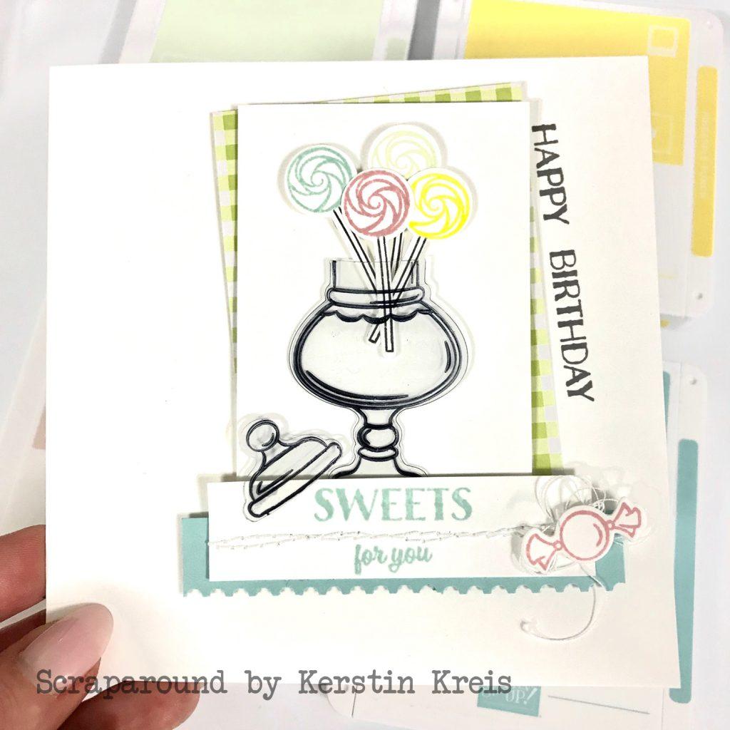 stampinup gdp169 Karte Geburtstag Bonbonglas Produktpaket sweetest thing Detailbild2