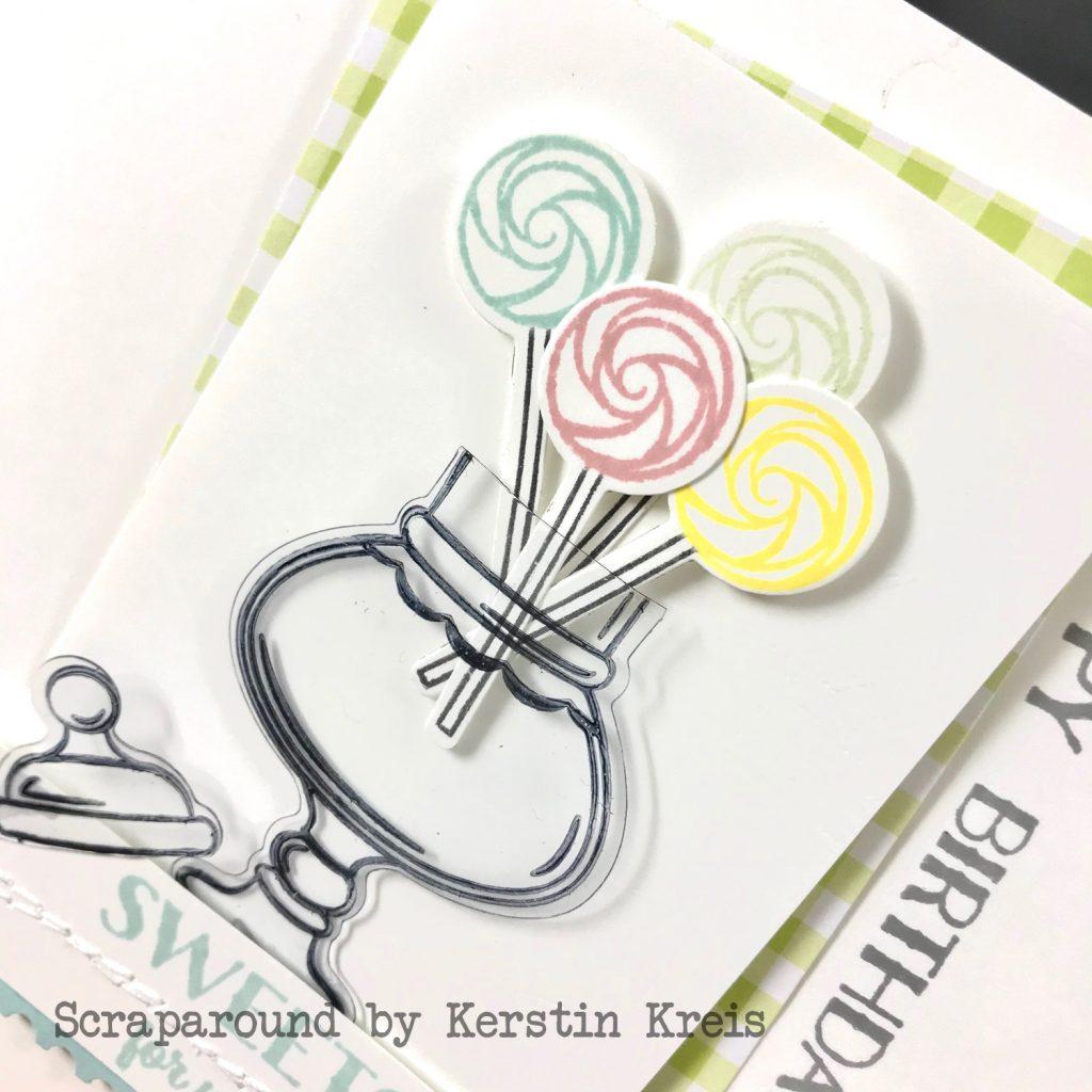 stampinup gdp169 Karte Geburtstag Bonbonglas Produktpaket sweetest thing Detailbild3