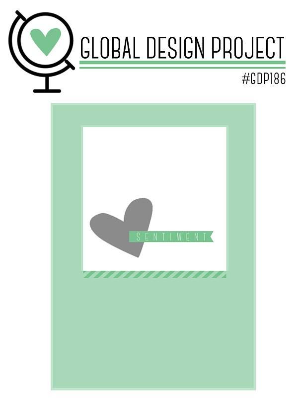 GDP186 Globaldesignprojekt stampinup sketch