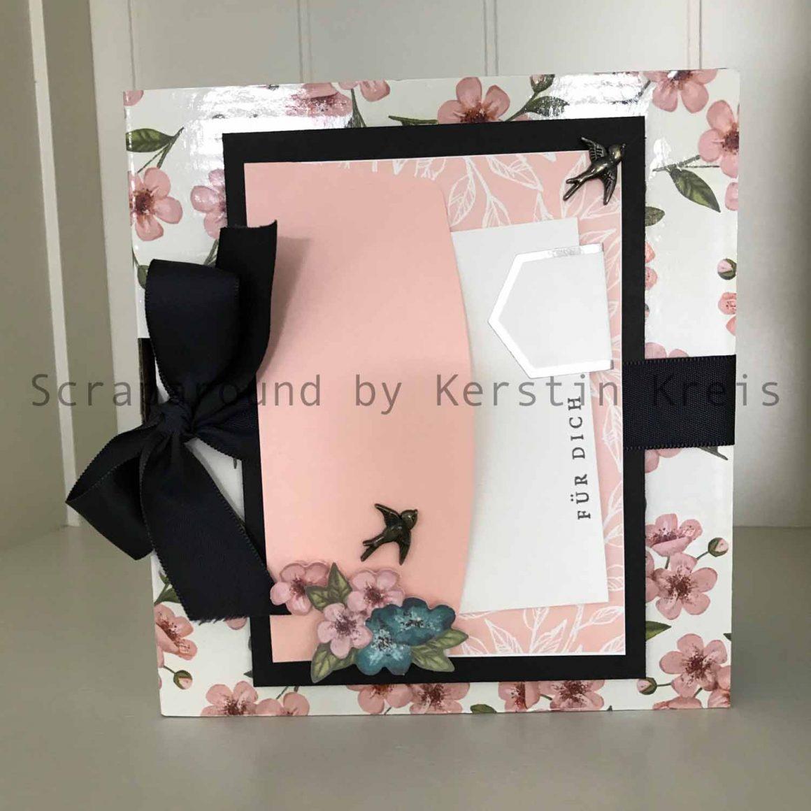 Minialbum mit dem PaperPumpkin Kit – incl. Anleitung
