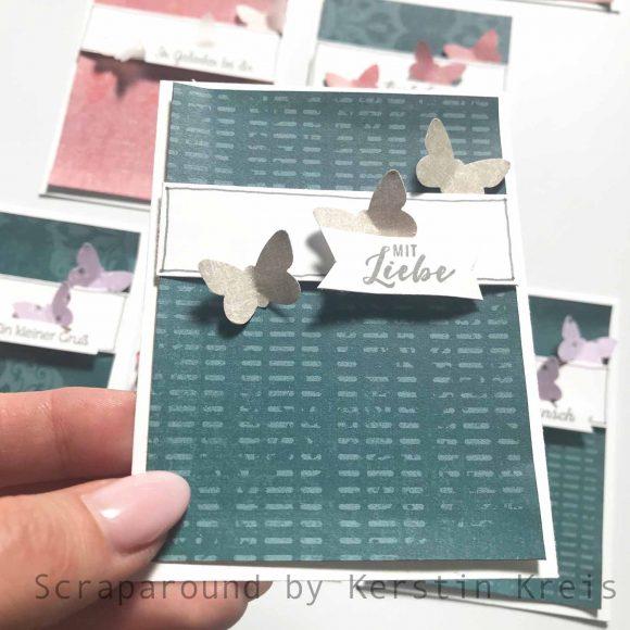 stampinup gdp194 sketch Stempel klitzekleine Grüße designerpapier vintage-flair Detailbild3
